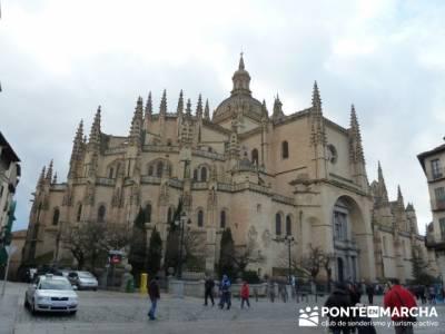 Destilería DYC y Ciudad de Segovia;singles madrid senderismo y montaña